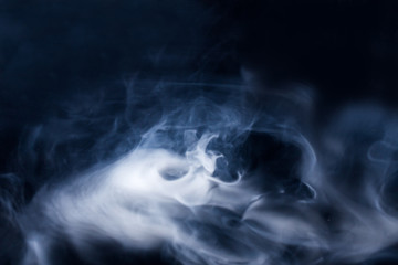 Beautiful abstract background with smoke