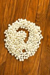 image of many pills closeup