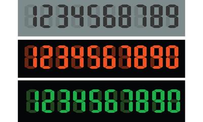 vintage numeric