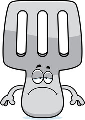 Sad Cartoon Spatula