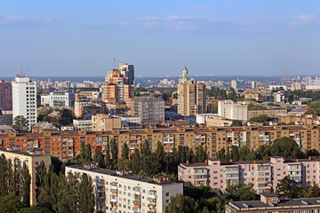 Nice view of Kyiv, the capital of Ukraine