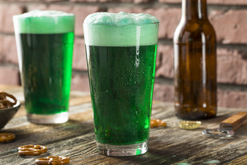 Refreshing Festive Green Beer