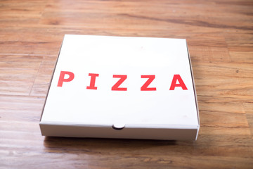 pizza box pack mockup paper for design and logo