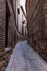 Narrow street of Toledo - Spain