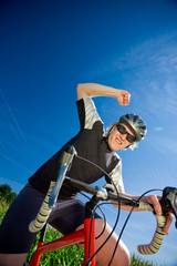 Cyclist Winner