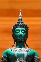 image of green buddha