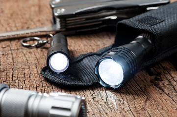 pocket flashlight for EDC