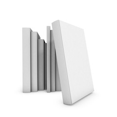 Book cover on white background