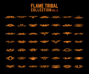 Tribal Flames collection