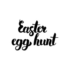 Easter Egg Hunt Handwritten Calligraphy
