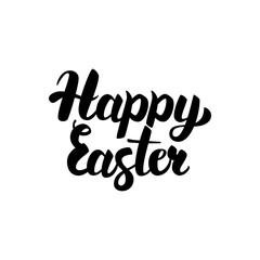 Happy Easter Handwritten Calligraphy