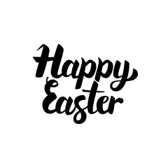 Happy Easter Handwritten Lettering