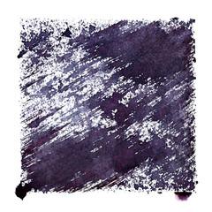 Bluish stenciled square