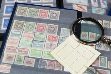 Znaczki pocztowe - kolekcja filatelistyczna.
