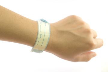 Patient identification wristbands
