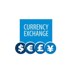 vector logo currency exchange