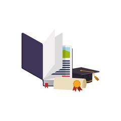 Books and education icon vector illustration graphic design