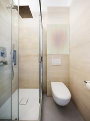 Luxury apartment, modern bathroom