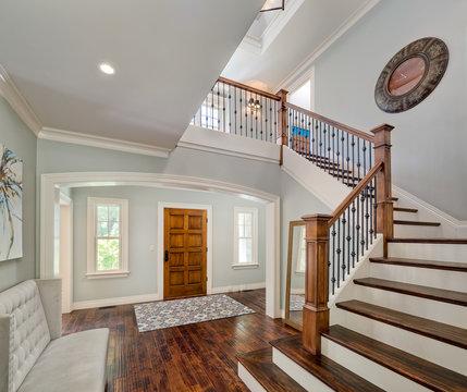 Interior Kitchen Stairs Bedroom Desk Lights Floors