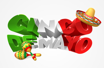 Happy Cinco De Mayo Design