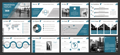 creative set of abstract infographic elements. modern presentation, Presentation templates