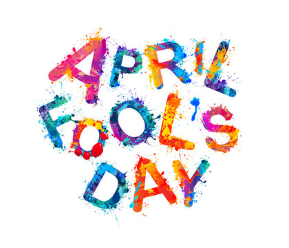 April fool's day. April 1st holiday