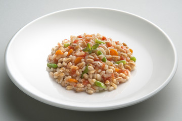 Dish of 3 cereal with Vegetables