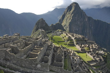 Ancient Inca citadel Machu Picchu, Peru.