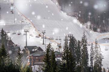 Живописный горнолыжный курорт в Восточной Европе