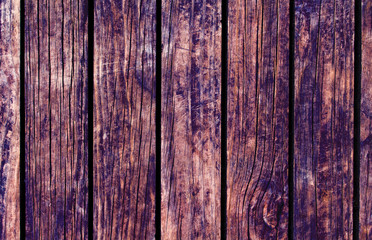 Color wood background. Brown wood texture with vertical lines.