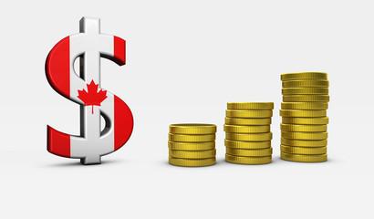 Canadian Economy Concept