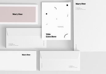 Modern Stationery Set