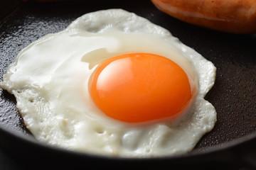Deurstickers Gebakken Eieren 目玉焼き