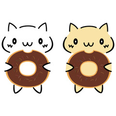 ねこドーナッツ