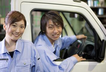Two Car Mechanics