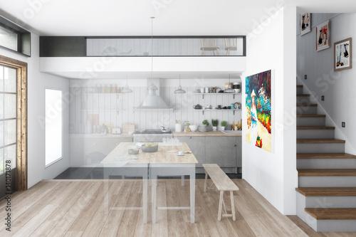 k che aus alt mach neu vision stockfotos und. Black Bedroom Furniture Sets. Home Design Ideas