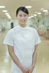 Portrait of nurse, Kanagawa Prefecture, Honshu, Japan