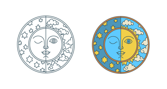 Day of spring equinox and autumn equinox