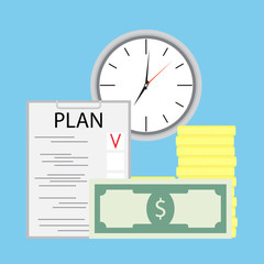 Planning money and time