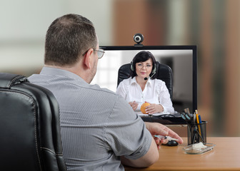 Manager as a telemedicine patient