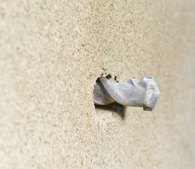 drill in concrete