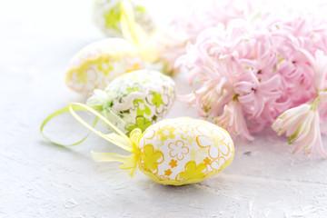 Easter background Spring Easter concept