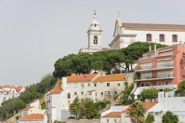 Stadtansicht von Lissabon