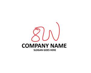 SW Letter Logo