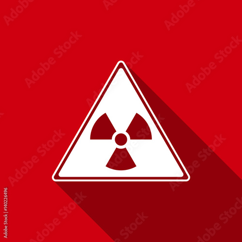 Radiation Symbol Vector