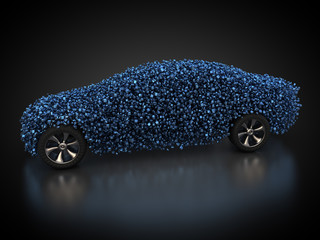 Teile und Rohstoffe für die Automobilindustrie