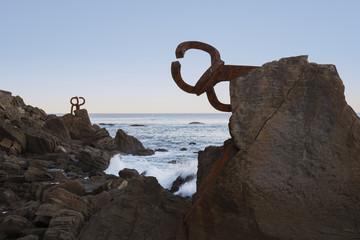 El Peine de los Vientos, in San Sebastian