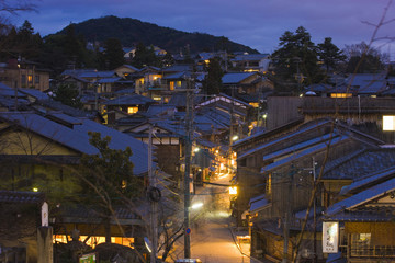 Kyoto residential district, Japan
