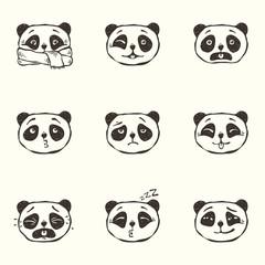 Panda emotions