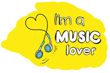 i'm a music lover.  motivating picture. great for printing on t-shirts.
